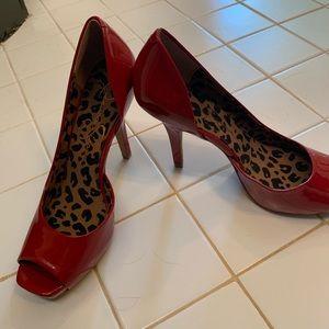 Jessica Simpson Shoes - Jessica Simpson Red Heels